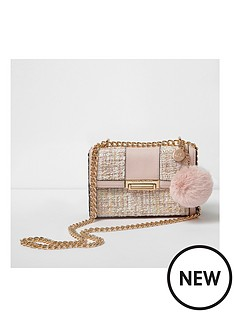 river-island-river-island-neutral-boucle-small-cross-body-bag