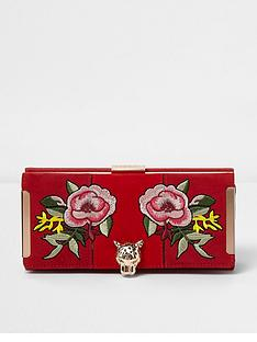 river-island-red-printed-embroided-purse