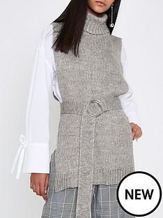 river-island-grey-knitted-tabbard