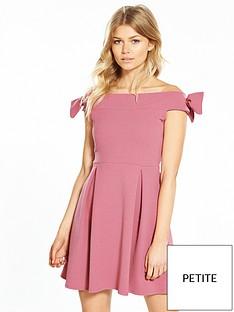 v-by-very-petite-bardot-skater-dress