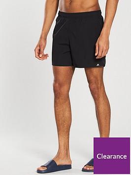 adidas-basics-solid-swim-shorts