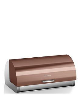 Morphy Richards Morphy Richards Accents Copper Roll Top Bread Bin Picture