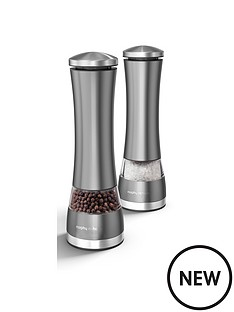 morphy-richards-accents-electronic-salt-amp-pepper-mill-titanium