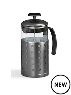 morphy-richards-accents-8-cup-cafetiere-1000ml-titanium