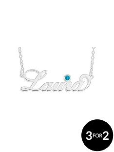 love-silver-sterling-silver-personalised-birthstone-necklace