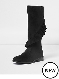 river-island-ruffle-knee-high-boot