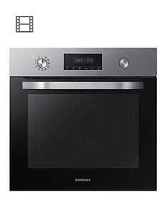 samsung-nv70k3370bseu-60cmnbspsingle-electric-oven-with-dual-fan-and-5-year-samsung-parts-and-labour-warranty-stainless-steel