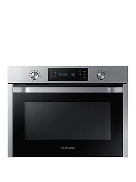 Samsung   Nq50K3130Bs/Eu 50-Litre Built-In Solo Microwave With Self Steam Clean - Stainless Steel