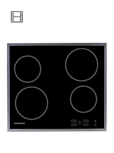 samsung-c61r1aamstxeu-60cmnbspceramic-electric-hob-with-residual-heat-indicator-black