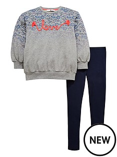 v-by-very-girlsnbspombre-floral-embroidered-sweat-and-legging-outfit