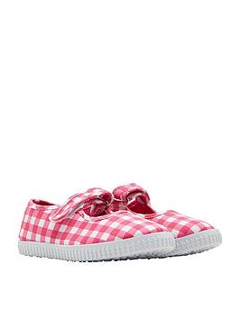 joules-girls-velcro-strap-pump-pink-gingham