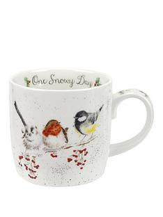 royal-worcester-wrendale-one-snowy-day-mug