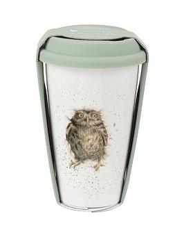 Royal Worcester Royal Worcester Wrendale Travel Mug &Ndash; Owl Picture