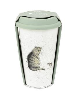 Royal Worcester Royal Worcester Travel Mug &Ndash; Cat Picture