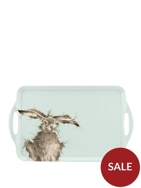 royal-worcester-wrendale-large-handled-tray-ndash-hare