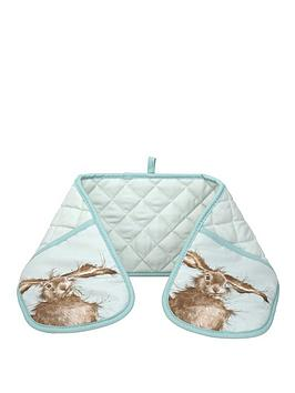 royal-worcester-wrendale-double-oven-glove-hare