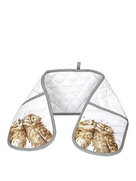 Royal Worcester Royal Worcester Wrendale Double Oven Glove Picture