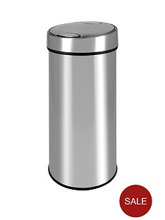 morphy-richards-pro-50l-round-touch-bin-stainless-steel