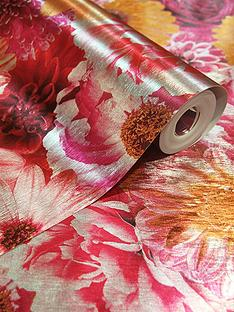 arthouse-foil-in-bloom-wallpaper-ndash-fuchsia