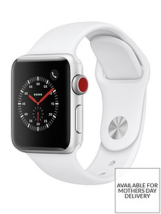 apple-watch-seriesnbsp3-2018-gpsnbspnbspcellular-38mm-silver-aluminium-case-with-white-sport-band