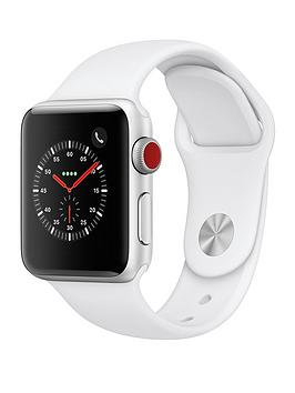 Apple Apple Watch Series 3 (2018 Gps + Cellular), 38Mm Silver Aluminium  ... Picture