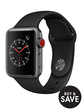 apple-watch-seriesnbsp3-2018-gpsnbspnbspcellular-38mm-space-grey-aluminium-case-with-black-sport-band