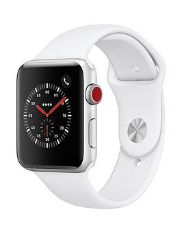 Apple Apple Watch Series 3 (2018 Gps + Cellular), 42Mm Silver Aluminium  ... Picture