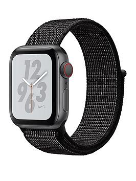 Apple Watch Nike+ Series 4 (Gps + Cellular), 40Mm Space Grey Aluminium Case With Black Nike Sport Loop cheapest retail price