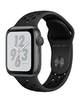Apple Watch Nike+ Series 4 (Gps), 40Mm Space Grey Aluminium Case With Anthracite/Black Nike Sport Band cheapest retail price