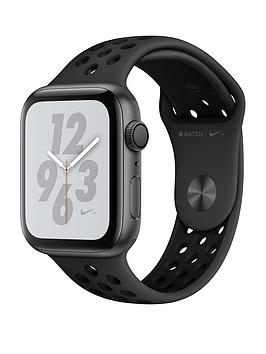 Apple Watch Nike+ Series 4 (Gps), 44Mm Space Grey Aluminium Case With Anthracite/Black Nike Sport Band cheapest retail price