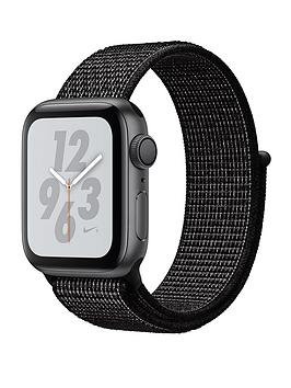 Apple Watch Nike+ Series 4 (Gps), 40Mm Space Grey Aluminium Case With Black Nike Sport Loop cheapest retail price