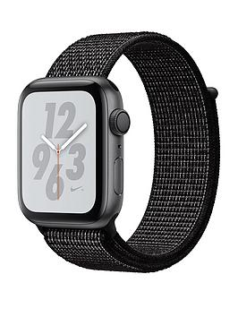 Apple Watch Nike+ Series 4 (Gps), 44Mm Space Grey Aluminium Case With Black Nike Sport Loop cheapest retail price
