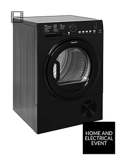hotpoint-aquarius-tcfs835bgk-8kgnbspload-condenser-sensor-tumble-dryer-black