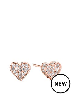 sif-jakobs-sterling-silver-18ct-rose-gold-plated-amore-heart-earrings-with-cubic-zirconia