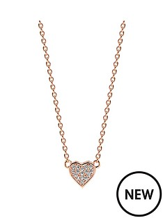 sif-jakobs-sterling-silver-18ct-rose-gold-plated-amore-heart-necklace-with-cubic-zirconia