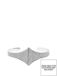 sif-jakobs-sterling-silver-rhodium-plated-trapani-bangle-with-cubic-zirconia