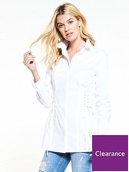 v-by-very-longline-corset-shirt-white