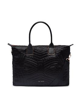 ted-baker-quilted-large-nylon-tote-bag-blacknbsp