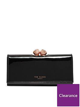 ted-baker-rose-quartz-bobble-matinee-purse-blacknbsp