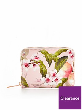 ted-baker-peach-blossom-small-zip-purse