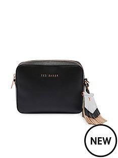ted-baker-metallic-tassel-camera-bag