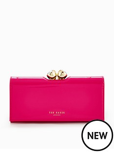 ted-baker-rose-quartz-bobble-matinee-purse-bright-pink