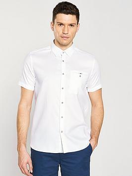 ted-baker-short-sleeve-waffle-shirt