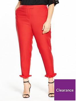 v-by-very-curve-ruffle-hem-trouser-rednbsp