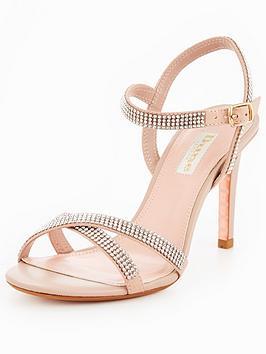 Dune London MADALENNA - High heeled sandals - blush