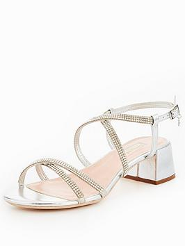 Dune London MASIEY - Sandals - silver