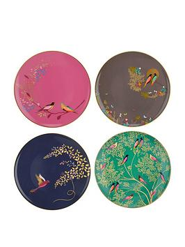 Sara Miller Sara Miller Sara Miller Chelsea Cake Plates - Set Of 4 Picture