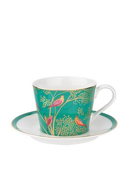 Sara Miller Sara Miller Sara Miller Chelsea Tea Cup &Amp; Saucer Set Picture
