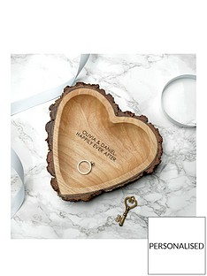 personalised-rustic-wooden-heart-tray