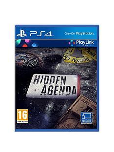 playstation-4-playlink-hidden-agenda-ps4